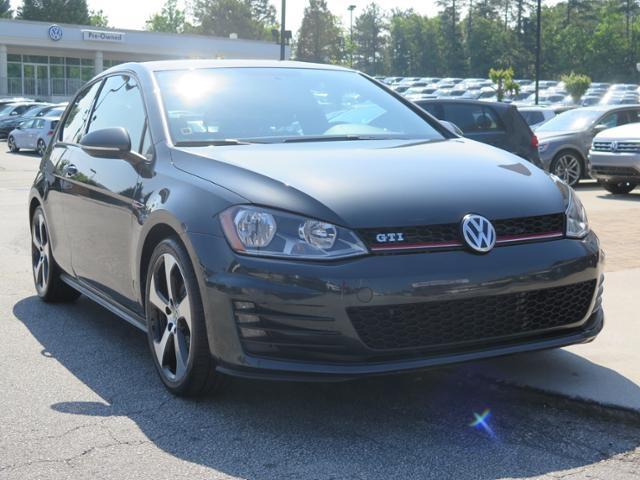Certified Pre-Owned 2015 Volkswagen Golf GTI 2.0T S