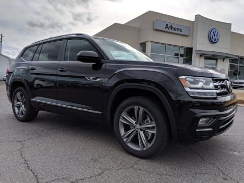 New 2019 Volkswagen Atlas 3.6L SE w/Technology R-Line