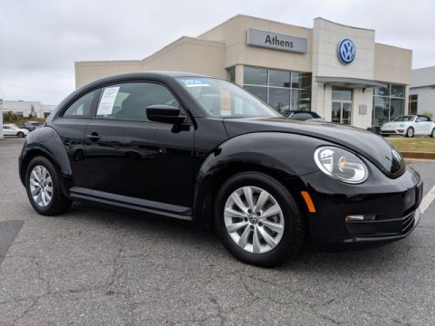 Certified Pre-Owned 2014 Volkswagen Beetle Coupe 1.8T Entry